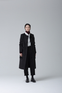 19_BLACK MOUTON COAT