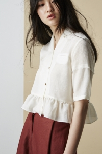 [SOLD OUT]IVORY BLOUSE