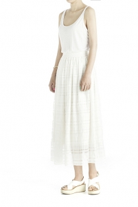 26_WHITE LONG SKIRT