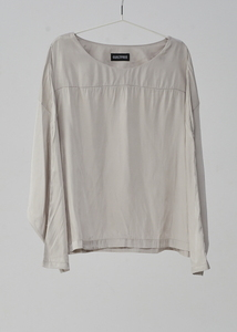 SOFT FABRIC BLOUSE(2 COLORS)