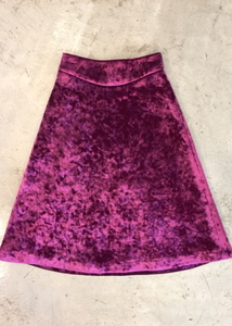 VELVET NEOPLAN SKIRT (2 COLORS)