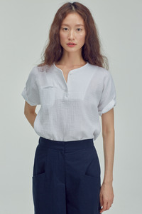 COTTON BASIC T-SHIRTS(2 COLOR)