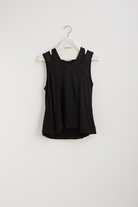 [1차 리오더]LAYERED SLEEVELESS JERSEY TOP(3 COLOR)