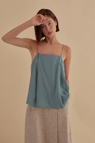 TIE BACK SLEEVELESS TOP