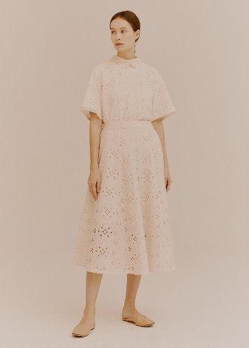 FLOWER LACE SKIRT