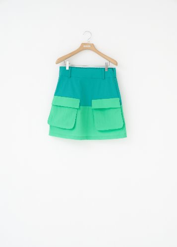 GF.2 POCKET SKIRT_MINT