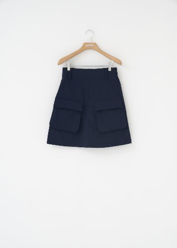 GF.2 POCKET SKIRT_NAVY