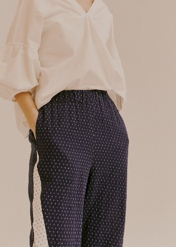 PATTERN BLOCK PANTS