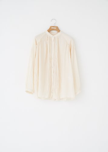 WRINKLE BLOUSE_CREAM